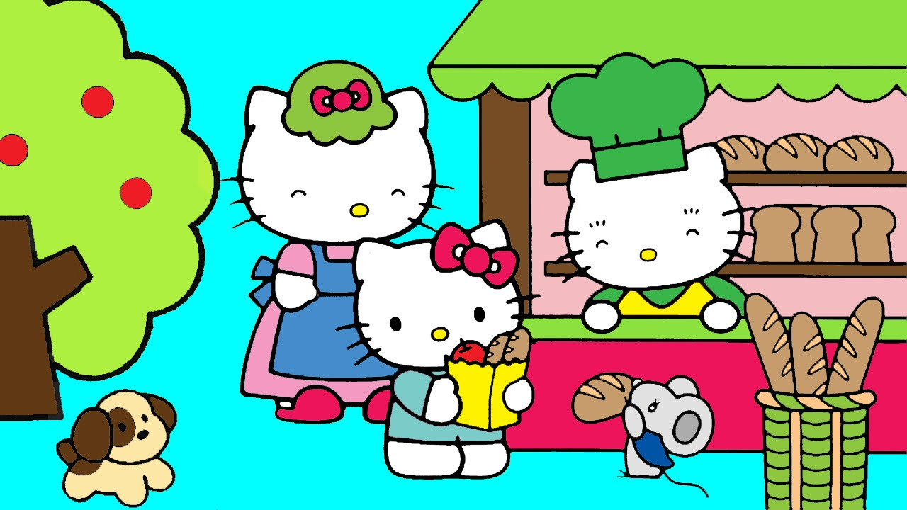 Kleurplaten Hello Kitty Princess.Hello Kitty Coloring Pages For Kids Hello Kitty Coloring Book