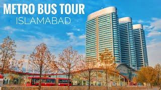 Metro Bus Tour Islamabad 2019 - Expedition Pakistan Video