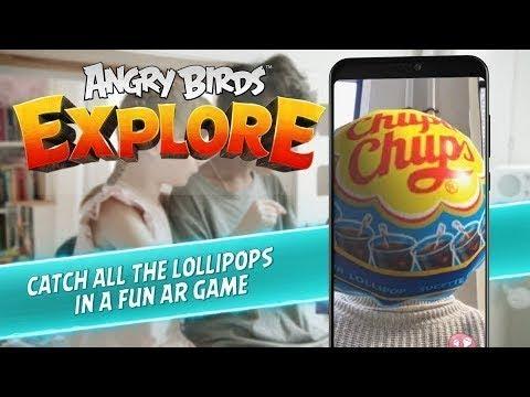 Experience Chupa Chups In Angry Birds Explore!