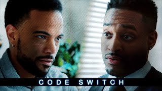 A Black interviewee gets caught off guard by his Black interviewer - Code Switch