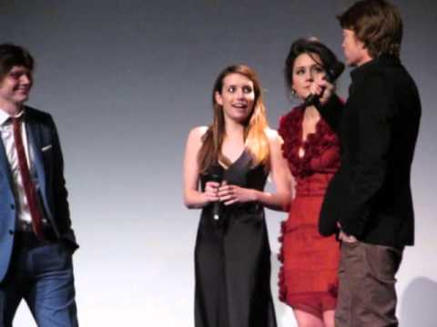 Adult World - Tribeca Film Festival - Emma Roberts Evan Peters Shannon Woodward Scott Coffey 4/18/13