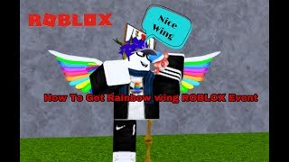 [EVENT] Roblox:How To Get Rainbow Wing in make a cake game for ipad and iphone [ close ]