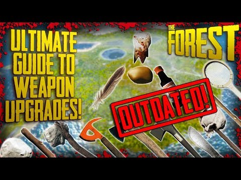 EVERYTHING You Need To Know About WEAPON UPGRADES! (Current as of v0.71) | The Forest