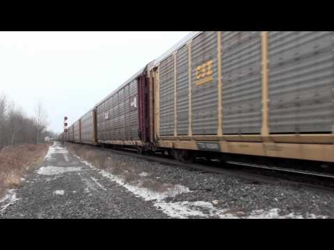 Railfanning Newtonville, ON at East Townline Rd. and Lovekin, ON at Lakeshore Rd. part 2. 12/30/2010