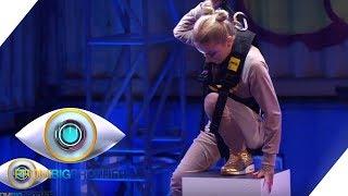 Duell: Der höchste Turm - Wer kann besser hochstapeln? | Tag 11 | Promi Big Brother 2018 | SAT.1