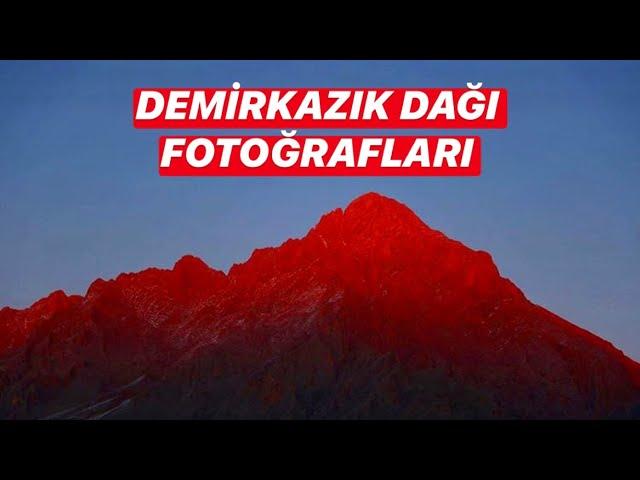 Mount Demirkazık, Aladaglar, Turkish Mountains / Demirkazık Dağı, Aladağlar, Türkiye Dağları