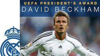 DAVID BECKHAM | UEFA President