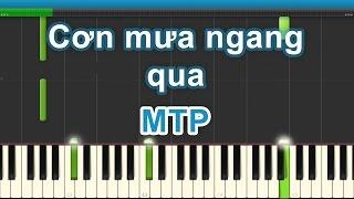 Cơn mưa ngang qua | Sơn Tùng MTP | Piano