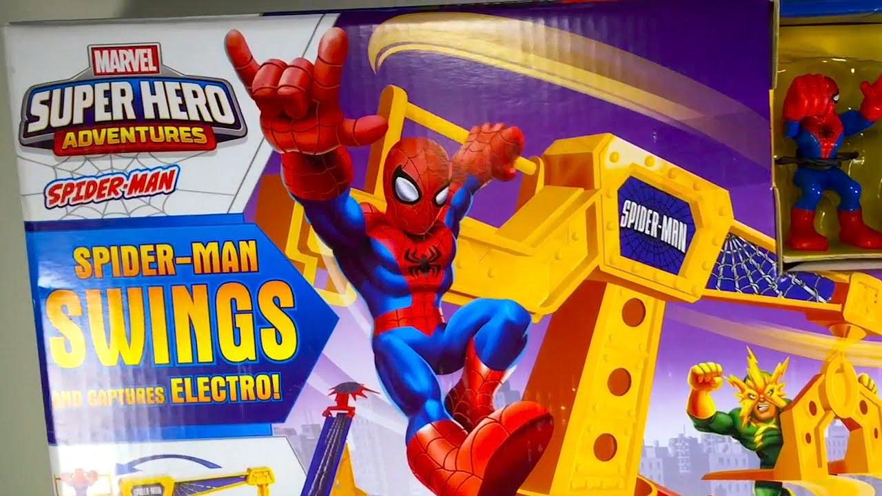 Hombre Araa en Espaol 0 El Heroe de Dibujos Animados  Juguetes