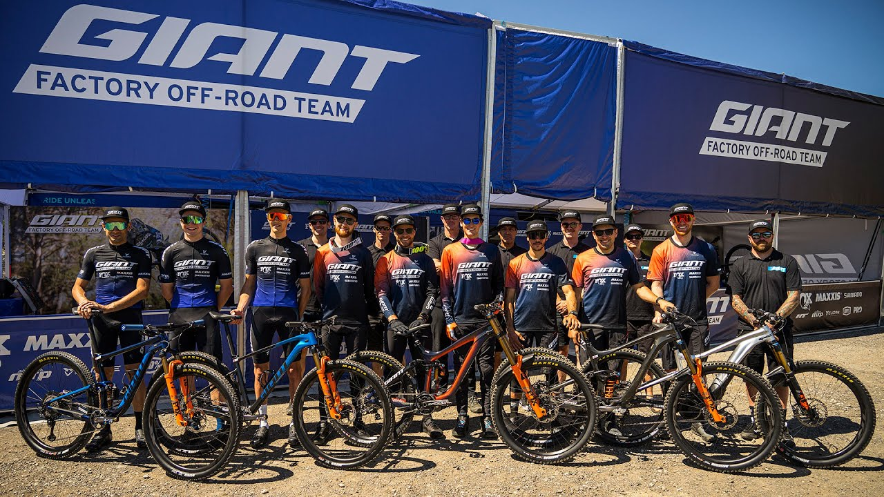 The Giant Factory Off-Road Team Heads to Innsbruck for Team Camp 2021   Giant Bicycles