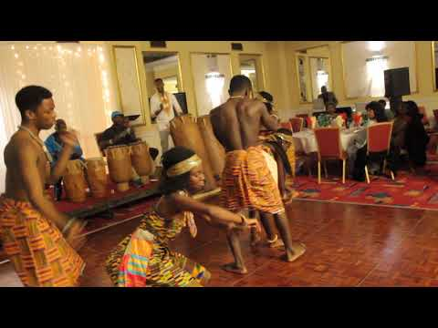 Adehyea Mma Troupe - Adowa with traditional drumming