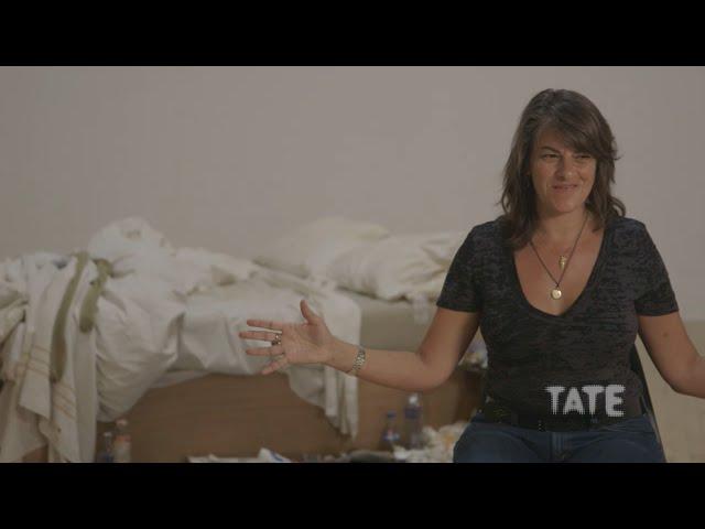 Tracey Emin on My Bed   TateShots