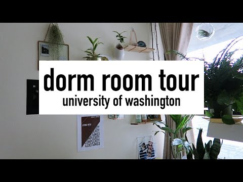 DORM ROOM TOUR 2018 | UNIVERSITY OF WASHINGTON - MCMAHON HALL (SINGLE ROOM)