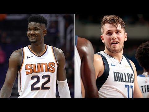 DeAndre Ayton, Luka Doncic NBA Debut! 2018-19 NBA Season