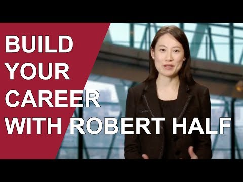 Build Your Career With Robert Half