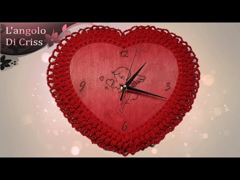 orologio all 39 uncinetto my valentine uncinetto facile