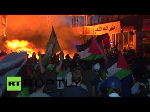 West Bank turmoil: Thousands of Palestinians protest Israeli offensive - RT  - uv0Rd4n5IGA -
