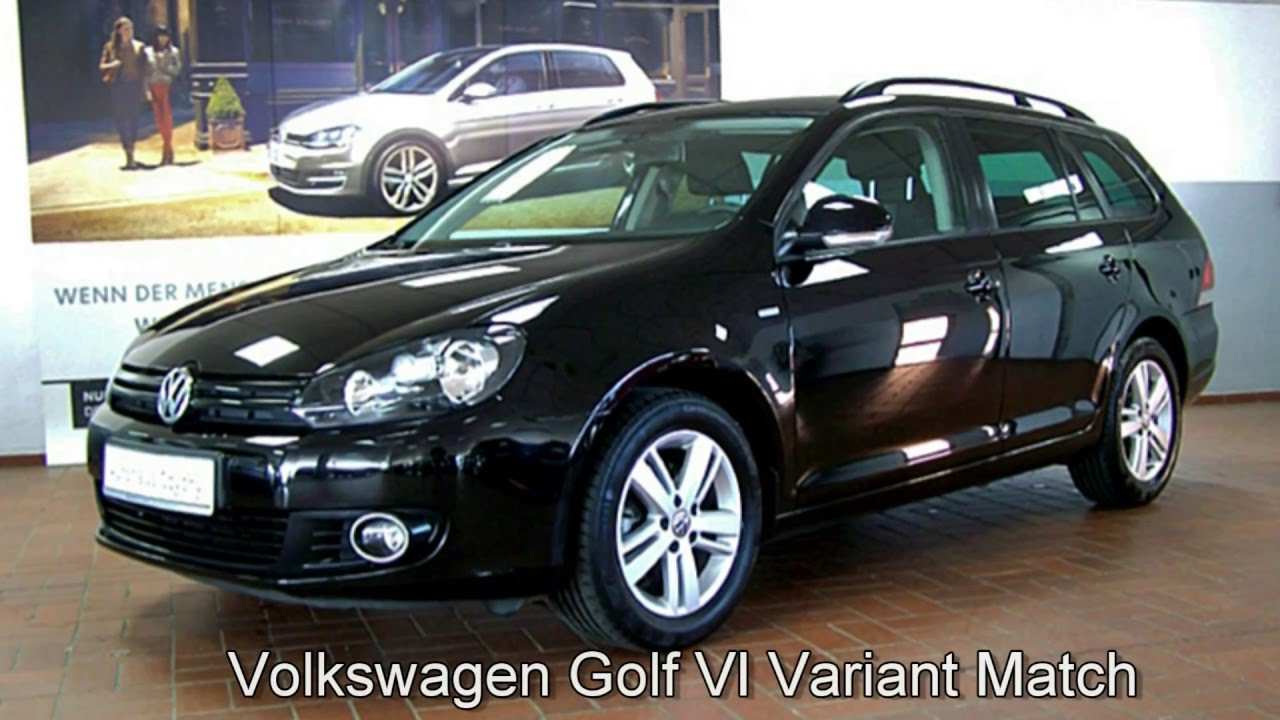 volkswagen golf vi variant 1 6 tdi match dm660354 autohaus czychy youtube. Black Bedroom Furniture Sets. Home Design Ideas