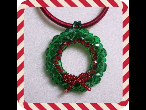 Christmas Wreath Pendant