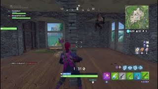 Intense 1v1 had to contact him / clan battle against TFN (Shinya the ninja clan) - Fortnite at end