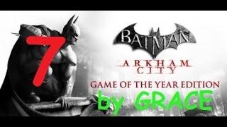 BATMAN ARKHAM CITY gameplay ITA EP 7 LA FOSSA DEI GLADIATORI by GRACE