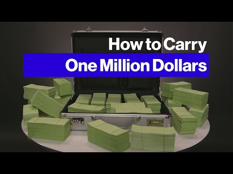Carrying $1 Million in Cash Is Easier Than You'd Think