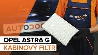 Podívejte se na video průvodce jak vyměnit Tlumiče pérování na OPEL ASTRA G Hatchback (F48_, F08_)