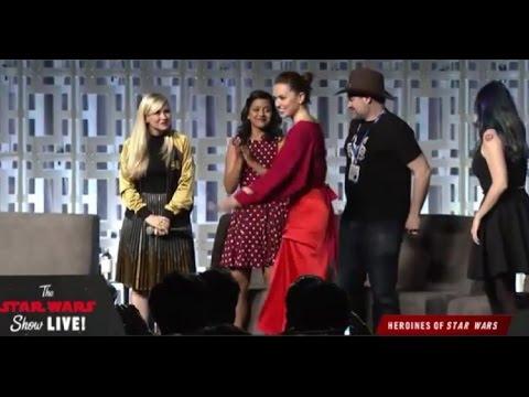The Heroines of Star Wars Panel FULL  Star Wars Celebration 2017 Orlando