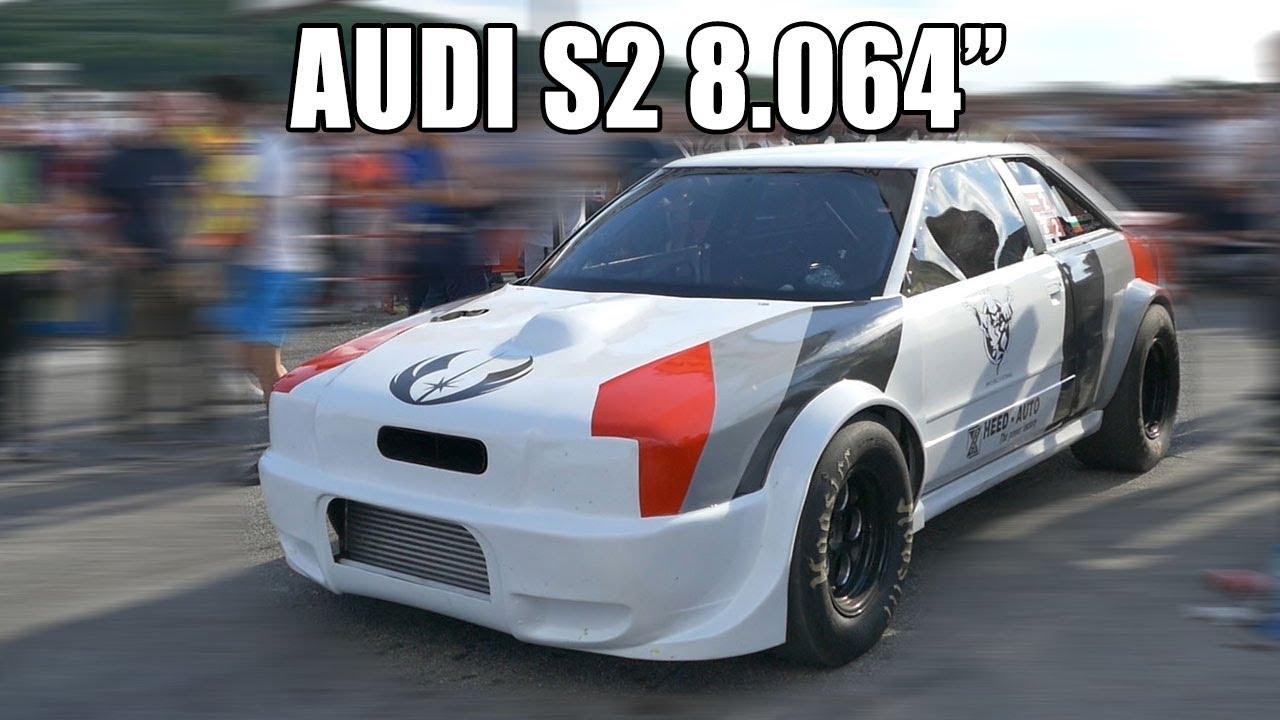 """AUDI S2 8.064"""" @ 288.46KM/H TUNED BY HEED-AUTO   Autokinisimag"""