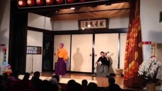2013.1.2 民謡津軽座 新春公演 初日より 唄:成田武士(民謡津軽座 座長)...