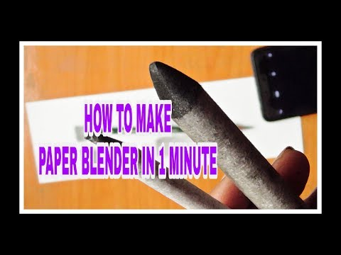 how to make paper blender | easy method | in hindi #tutorial #sandipartgallery