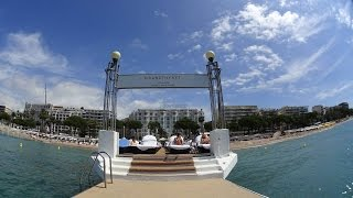 Grand Hyatt Cannes Hotel Martinez amazing seaview suite tour & review