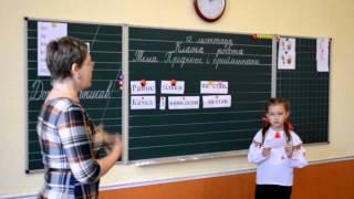 Урок української мови в 3 – Б класі з теми: «Прийменники і префікси». Рудакова Т В