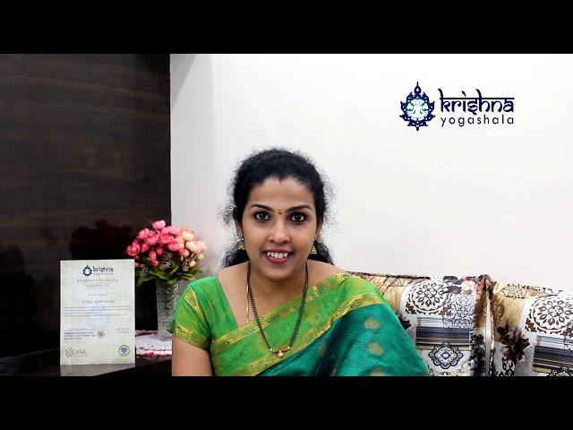 Yoga teacher training feedback