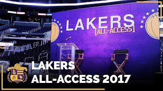 Lakers All-Access 2017 With Magic Johnson, Jeanie Buss & Luke Walton