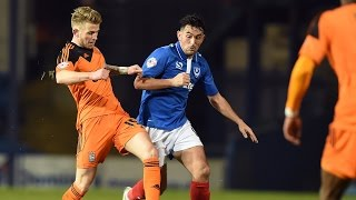 HIGHLIGHTS: Portsmouth 2-1 Ipswich Town
