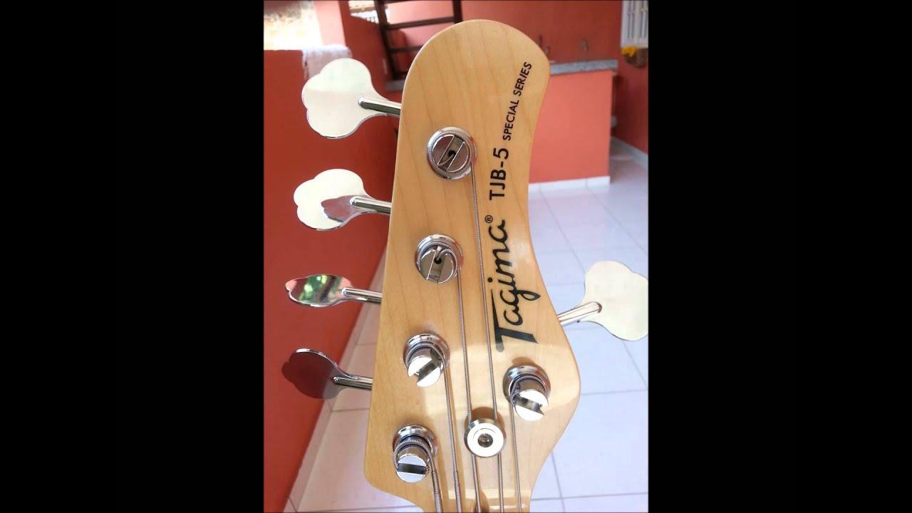 Circuito Jazz Bass : Baixo tagima jazz bass special sjb com caps e circuito seymour