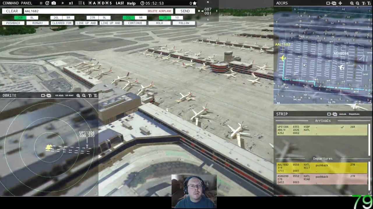 Tower! 3D Pro with Voice Recognition - KATL - Atlanta