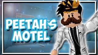 Bloxburg GRAND OPENING OF PEETAH MOTEL! LANDLORD Routine (Roblox Roleplay)
