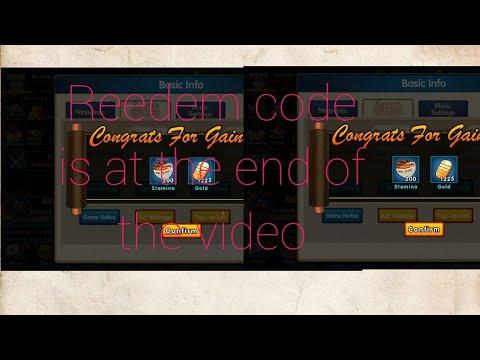Ultimate Ninja : Ninja King Reward reedem codes for all ...