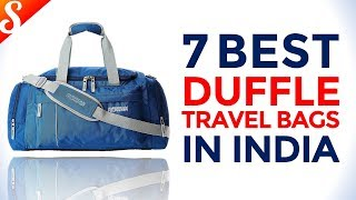 7 Best Duffle Travel Bags in India with Price