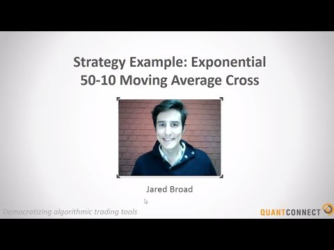 Exponential Moving Average Cross - Strategy Walk Through