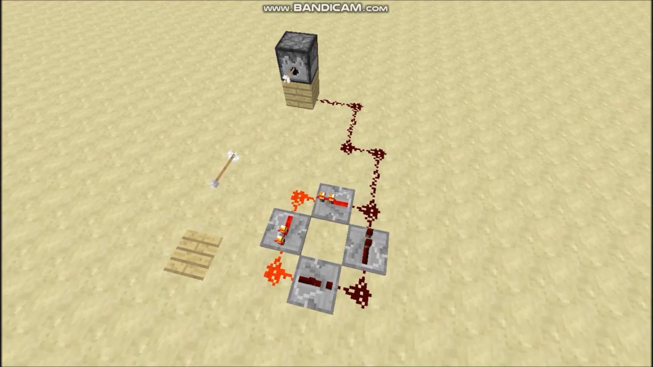 Minecraft how to make an infinity loop with redstone repeater