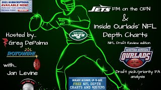 Inside NFL Depth Charts: A New York Jets NFL Draft review with Jan Levine of Rotowire.com