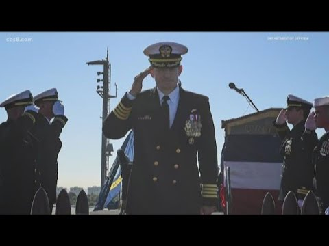 Navy Capt. Crozier, fired for letter about coronavirus on USS ...
