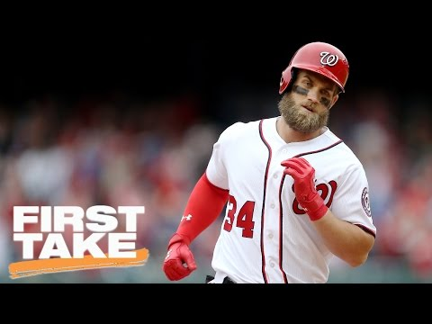 Bryce Harper To The Yankees Will Be Great For Baseball   Final Take   First Take   April 4 2017