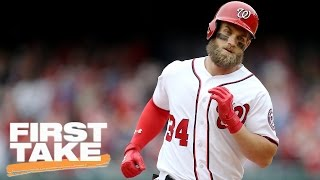 Bryce Harper To The Yankees Will Be Great For Baseball | Final Take | First Take | April 4 2017