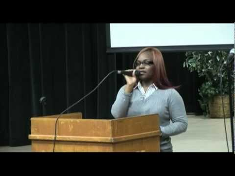 Danielle Williams (EX-Porn Star) Ministers at Savannah State