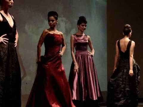 Desfiles de moda vestidos de noche