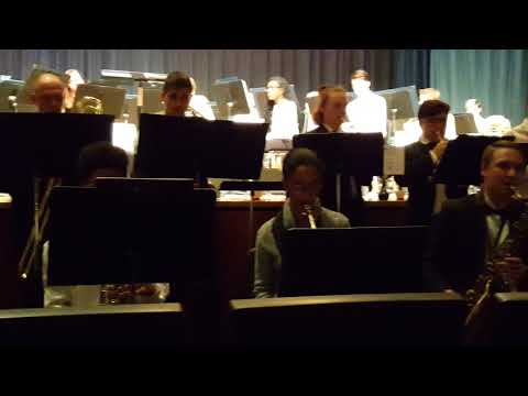 Jazz Band - Spring 2018, Courtland High School